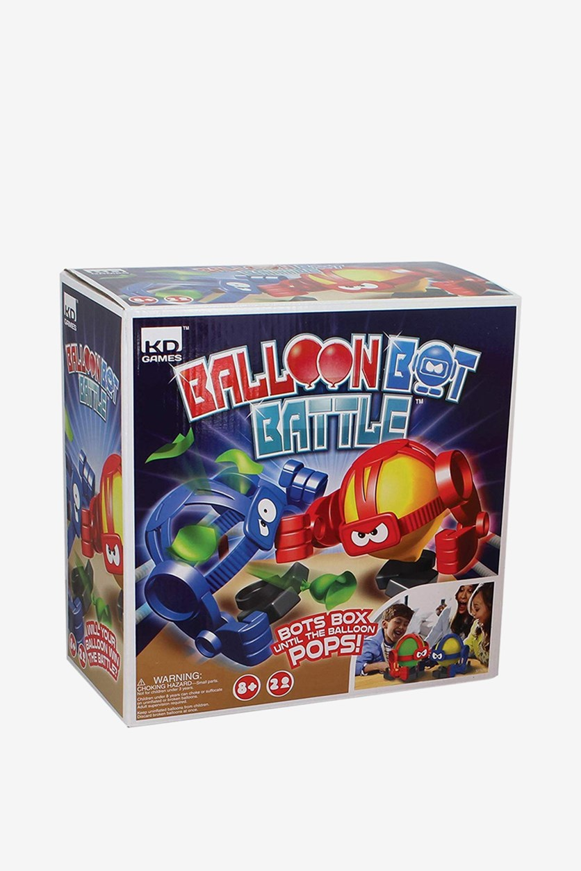 Balloon Bot Battle Toy, Red/Blue