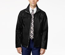 Ryan Seacrest Distinction Men's Full-Zip Stand-Collar Jacket, Black