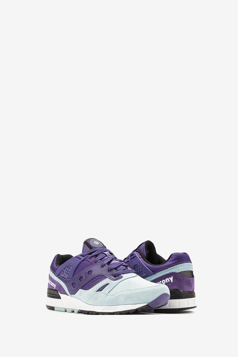Men's Grid SD Shoes, Purple/Blue