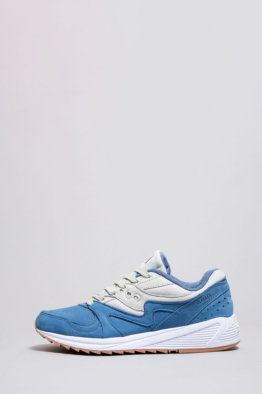 Men's Grid 8000 Shoes, Blue/Light Grey