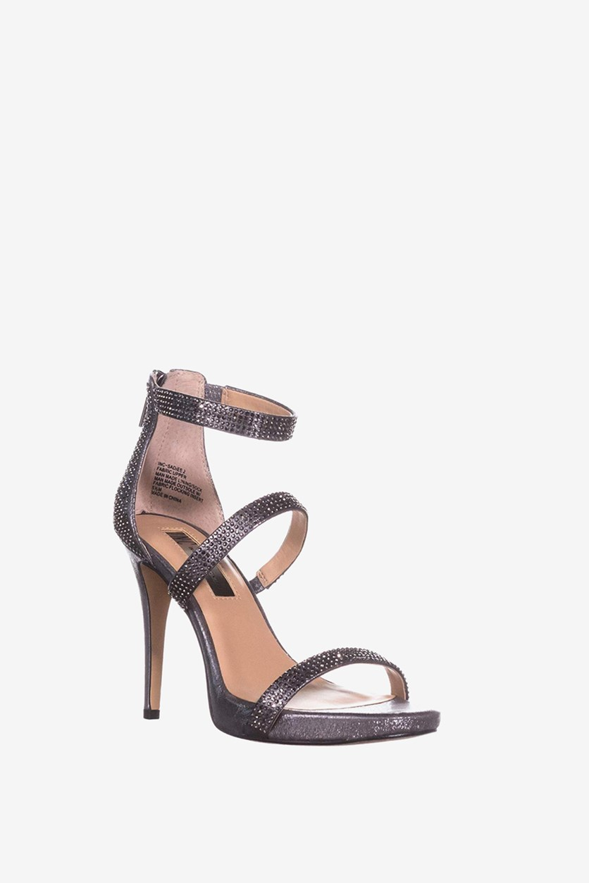 Women's Sadiee2 Strappy Dress Sandals, Pewter