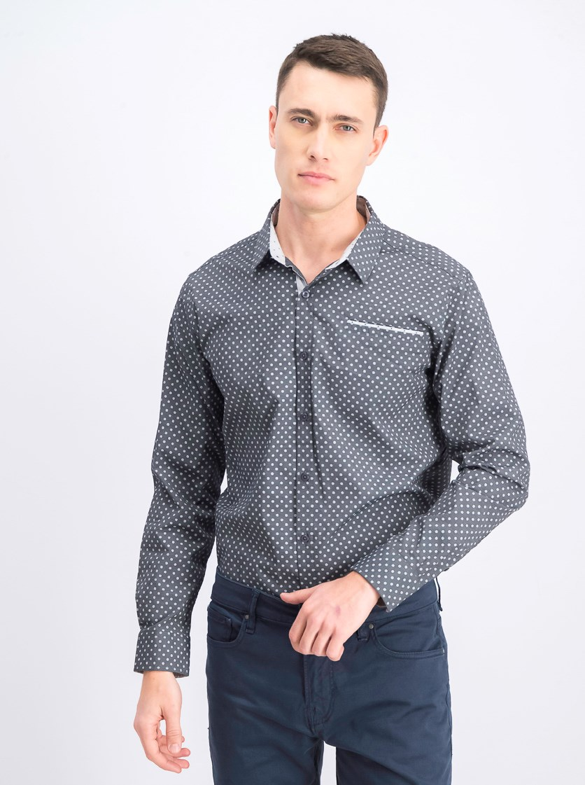 Men's Healing Tide Stretch Oxford Shirt, Grey
