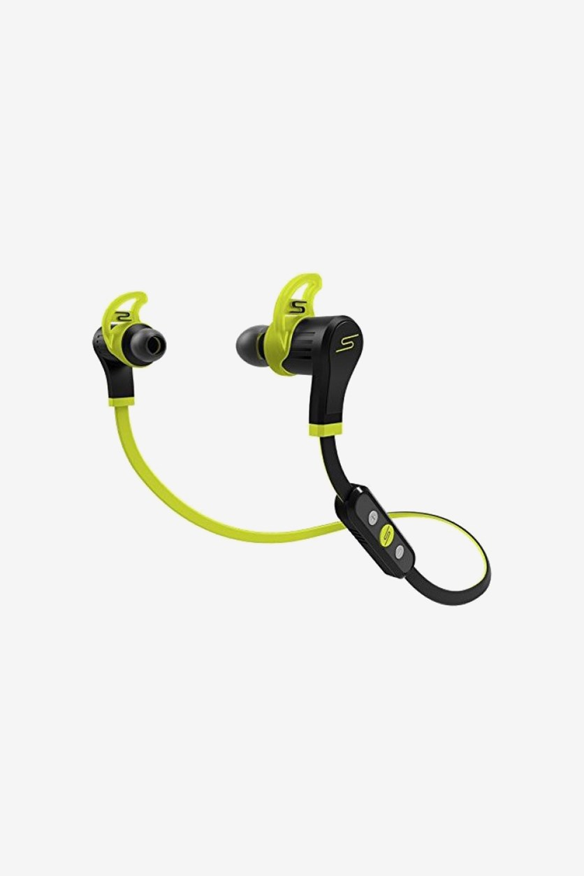 SMS Audio In-Ear Bluetooth Wireless Sport Earphone, Yellow/Black