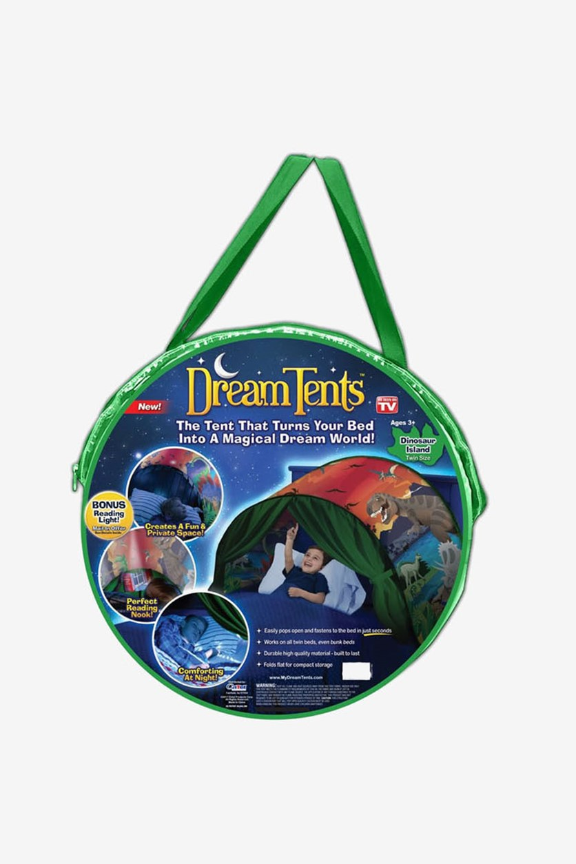 Dinosaur Island Fun Pop Up Tent, Green