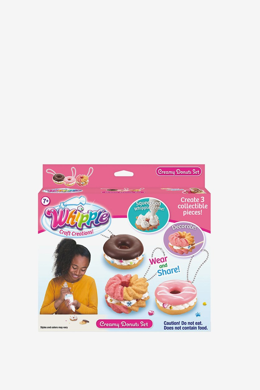 Creamy Donuts Set, Pink Combo