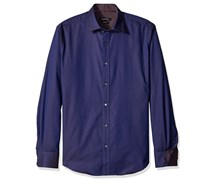 Bugatchi Men's Button Down Shirt, Navy