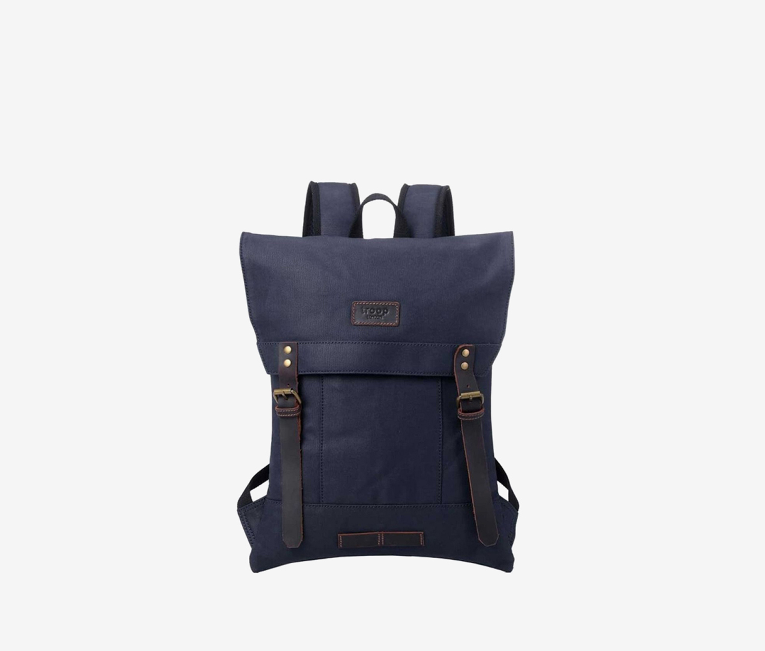 Troop London Canvas Bag for Travel and Work, Navy