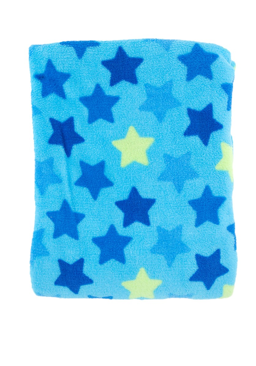 Baby Boy's Soft And Cuddly Blanket, Blue