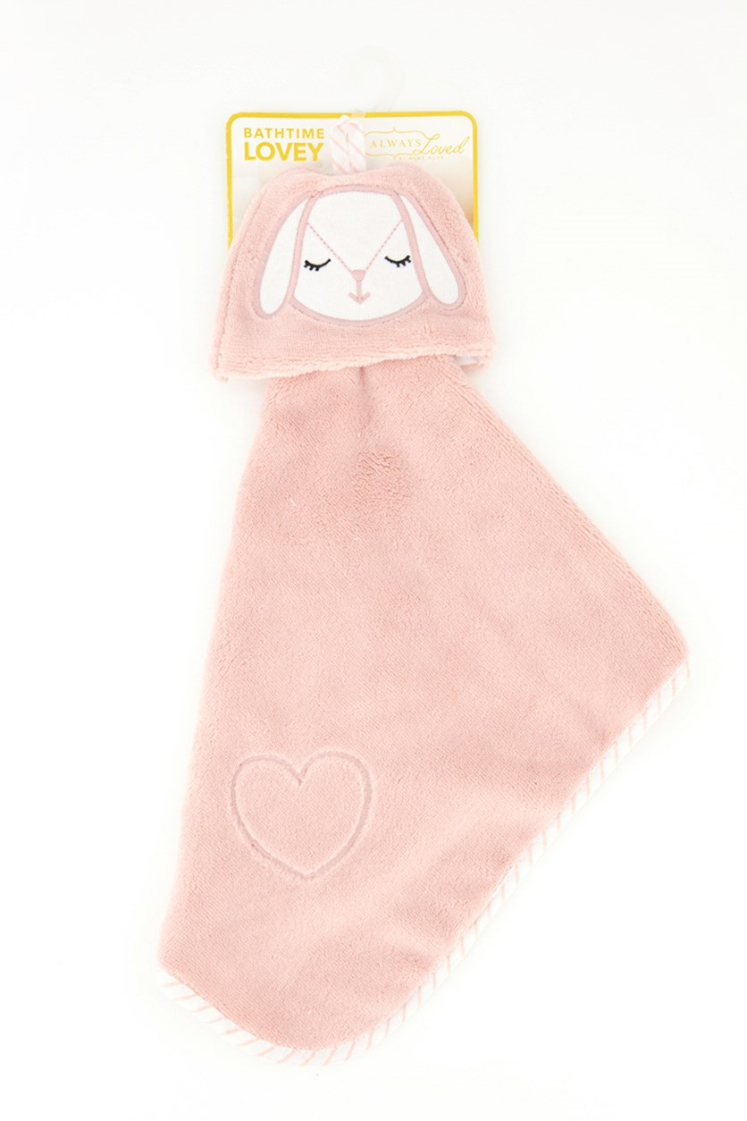 Baby Coral Fleece Cuddle Lovey Buddy, Pink