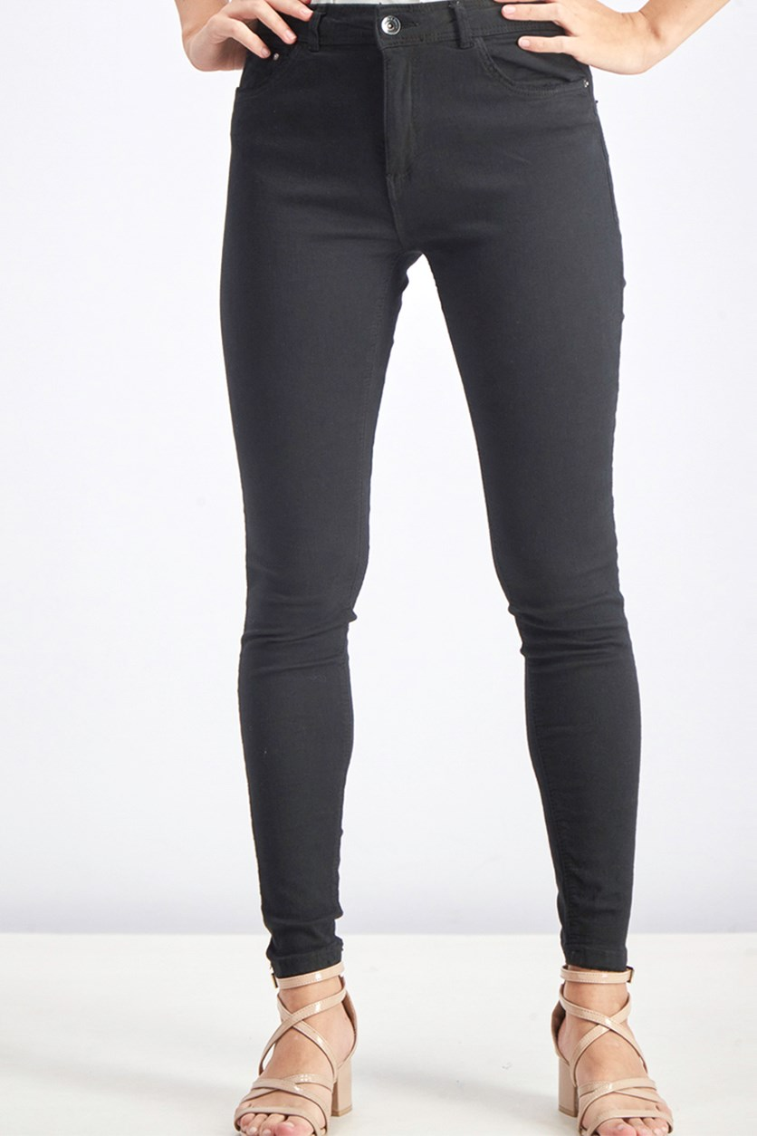 Women's Skinny Jeans, Black