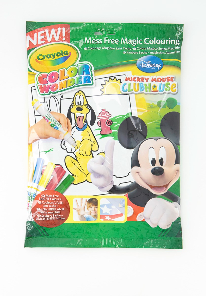 Mickey Mouse Color Wonder, Green Combo