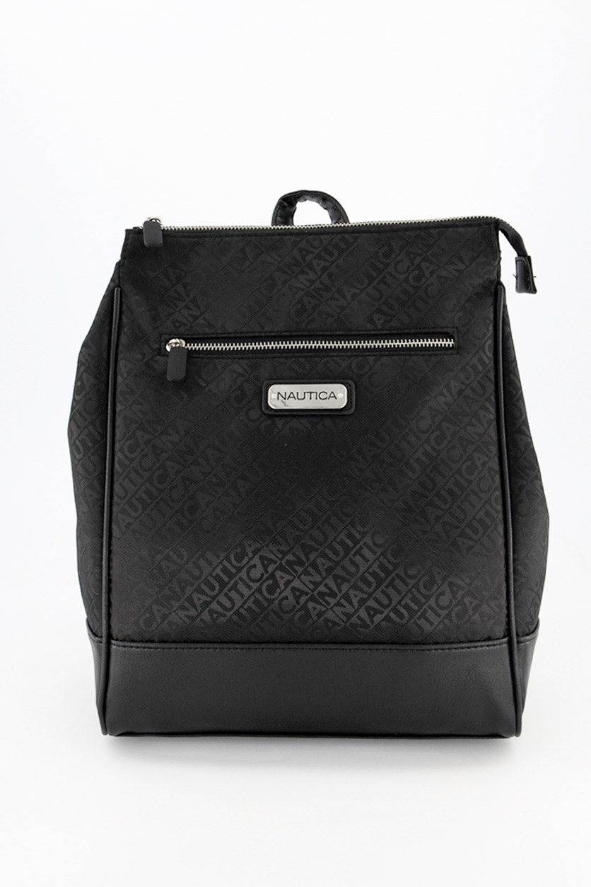 Women's City Side Backpack, Black