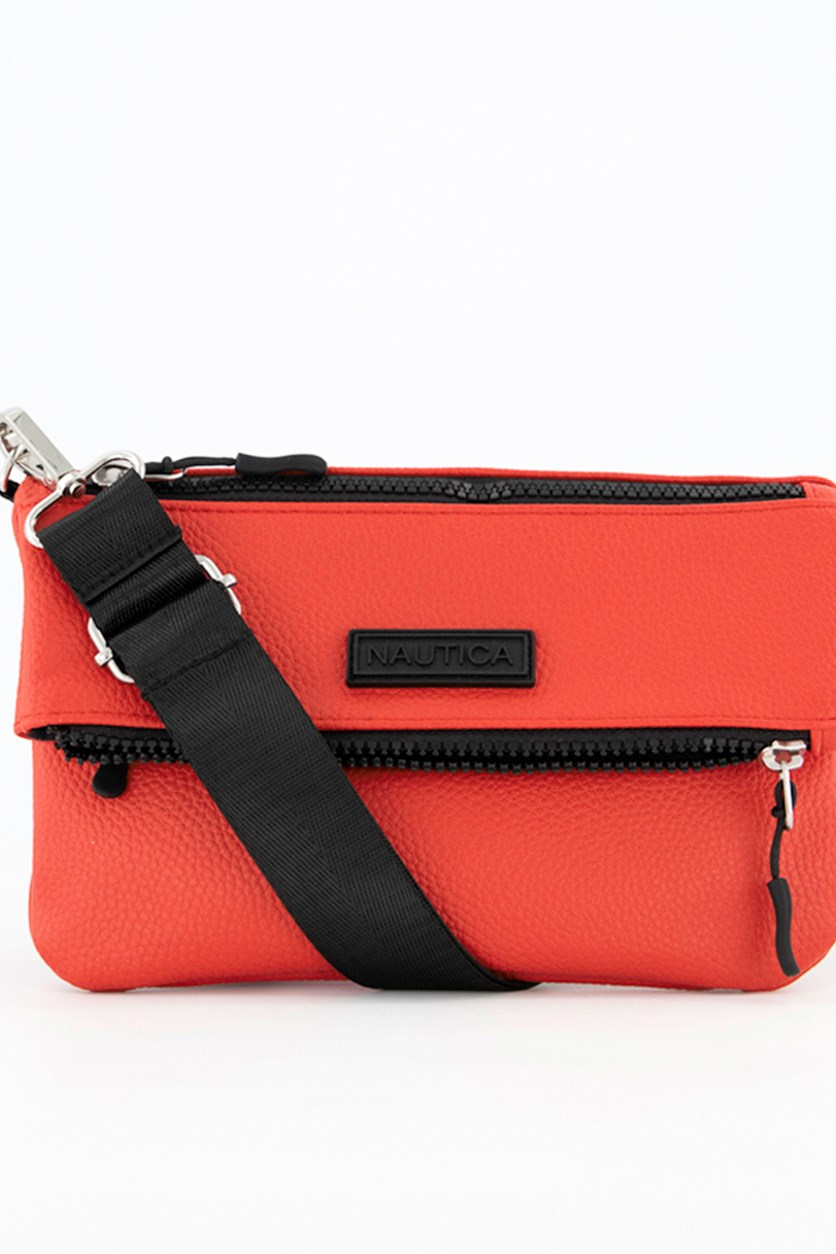 Women's Chapo Convertible Mini Crossbody Bag, Red