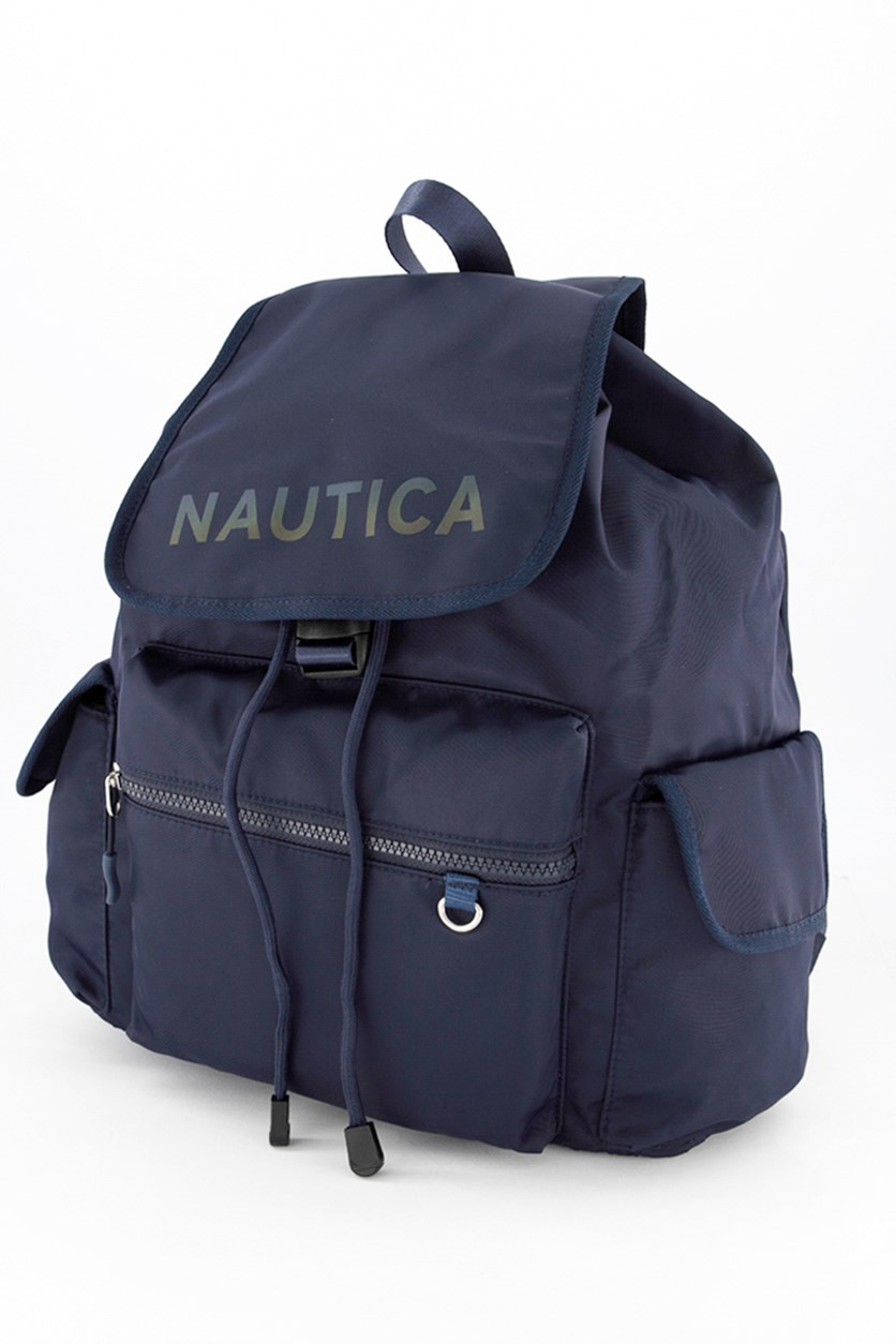 Women's Galaxy Flap Backpack, Navy