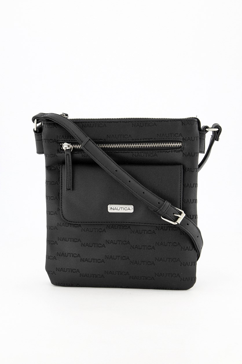Women's Key Largo Crossbody Bag, Black