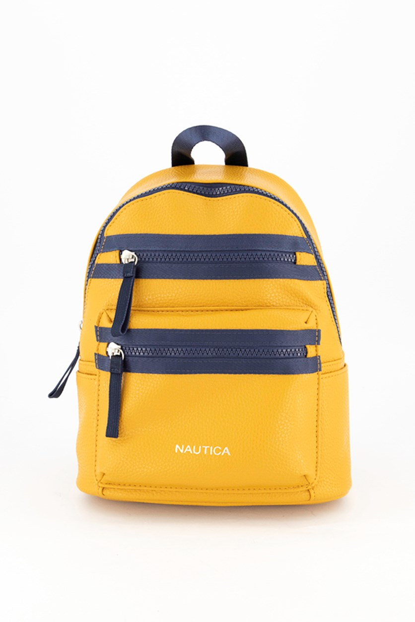 Women's Jr Dome Backpack, Yellow/Navy