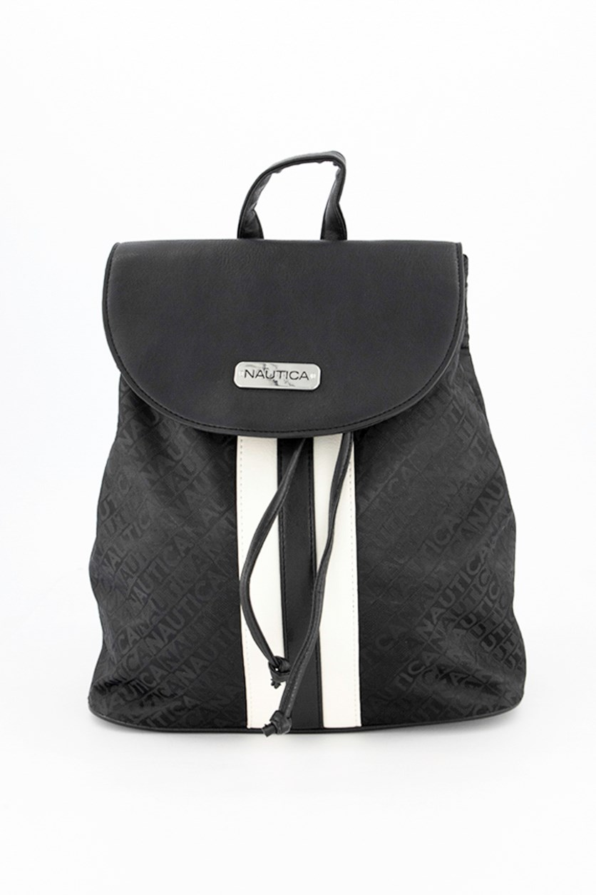 Women's Lakeside Flap Backpack, Black