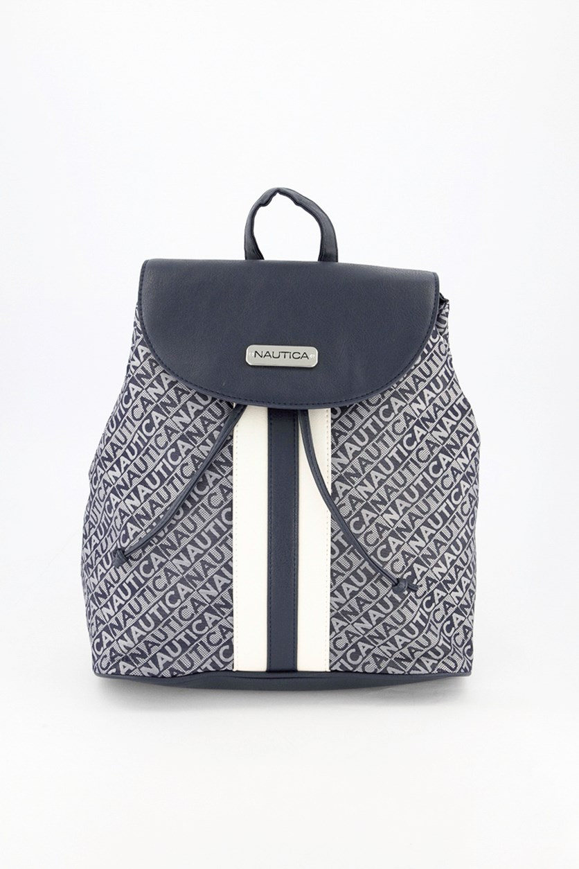 Women's Lakeside Flap Backpack, Indigo