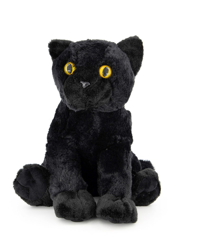 Soft  Cat Cuddly Stuff Toys, Black