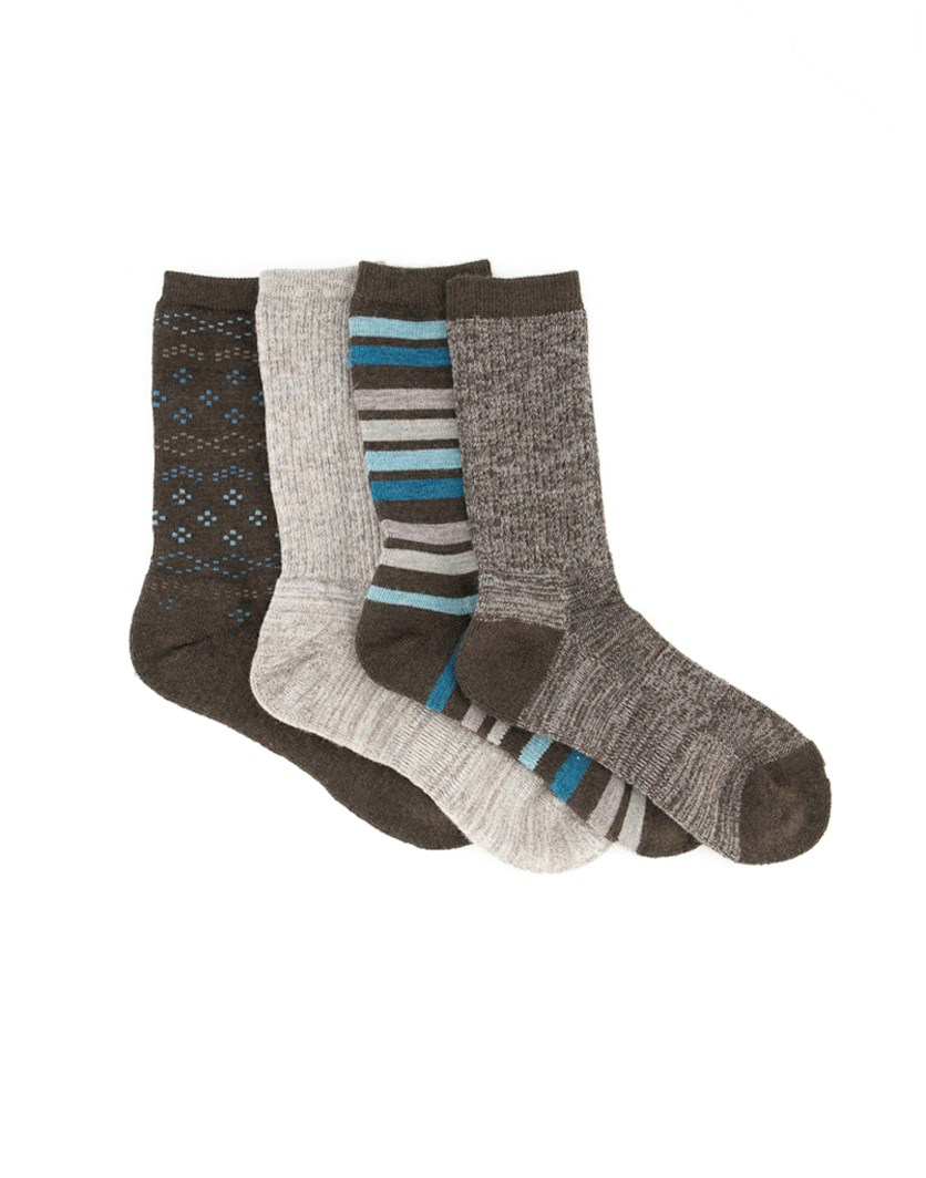 Women's Trail Socks, Brown Combo