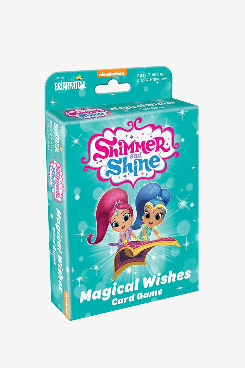 Magical Wishes Card Game, Sky Blue