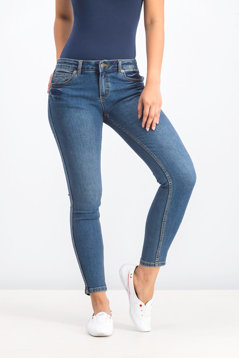 Women's Lately Skinny Jeans, Sanded Vintage