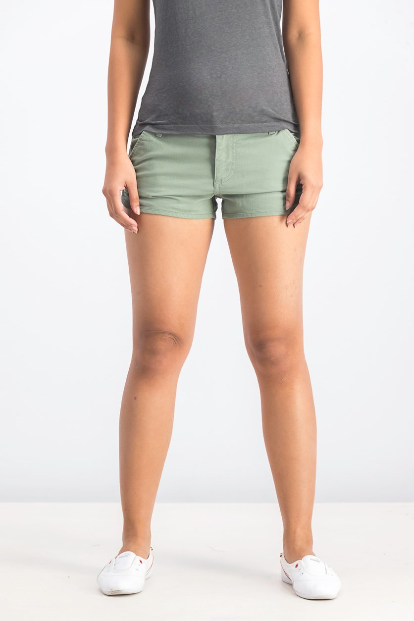 Women's Town Down Low Rise Short, Smoke Green