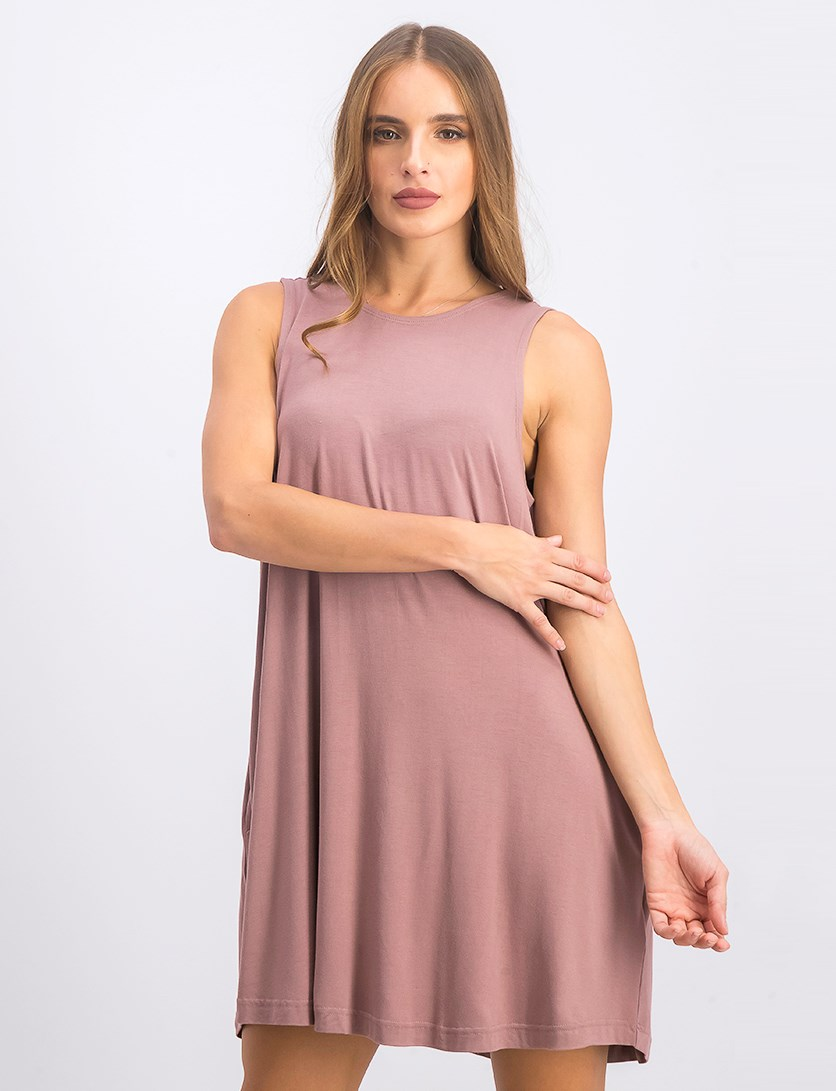 Women's Swing Dress, Mauve