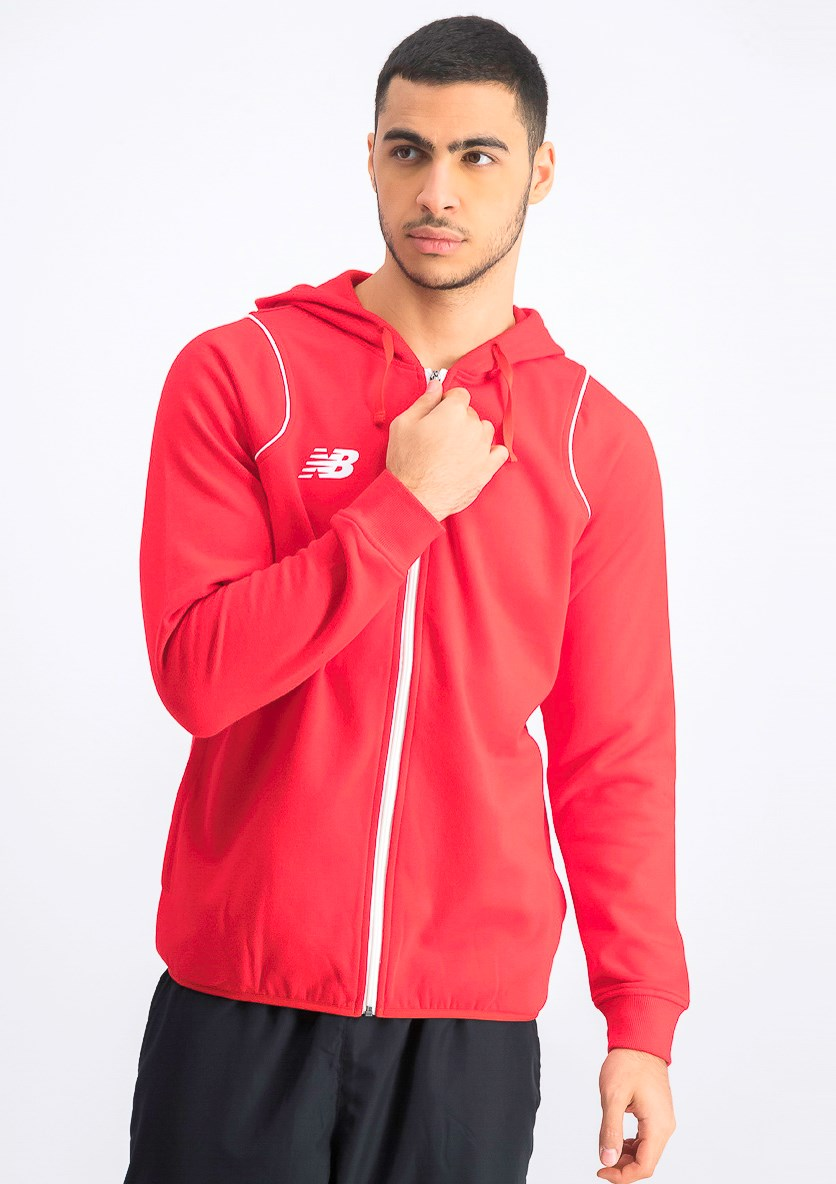 Men's Hooded Jacket, Red