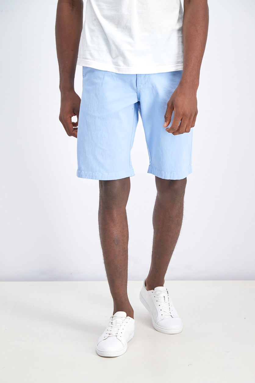 Men's Memphis Stretch Shorts, Sky Blue