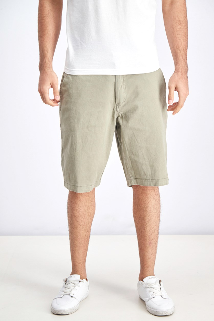 Men's Memphis Stretch Shorts, Light Army