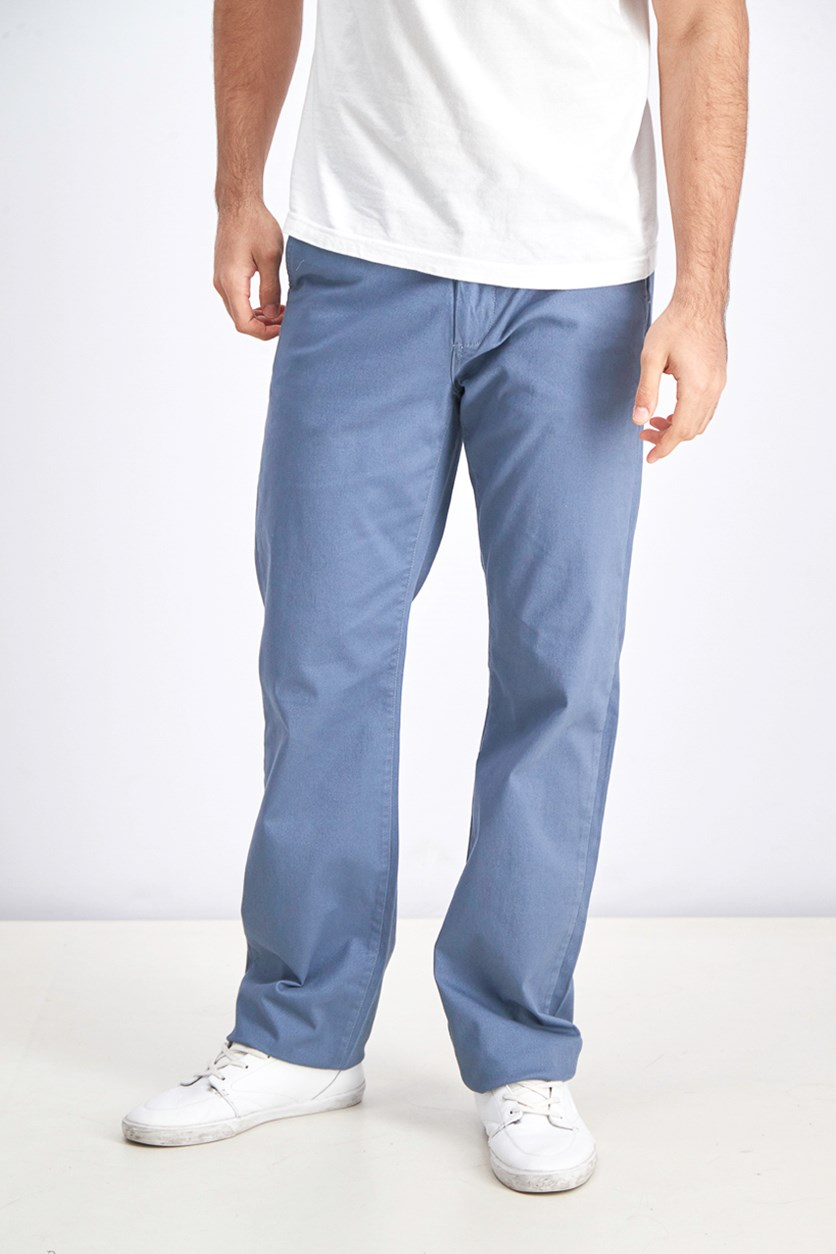 Men's Castleton Chino Relaxed Fit Pants, Blue