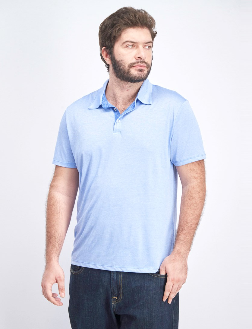 Men's Jetmore Polo Shirt, Light Blue