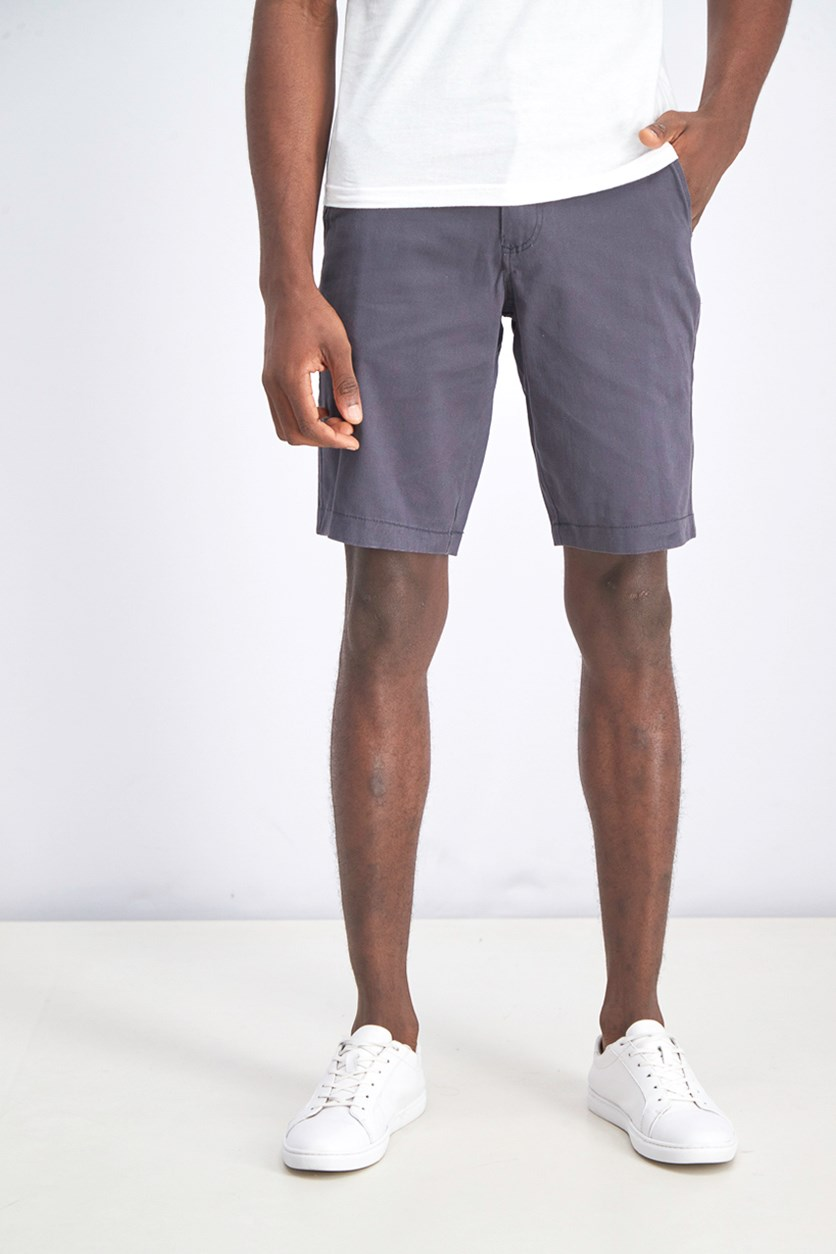 Men's Memphis Garment Dye Shorts, Charcoal
