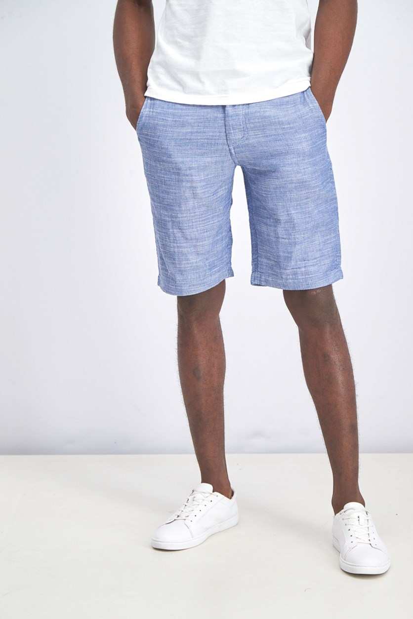 Men's Pull-on Shorts, Blue