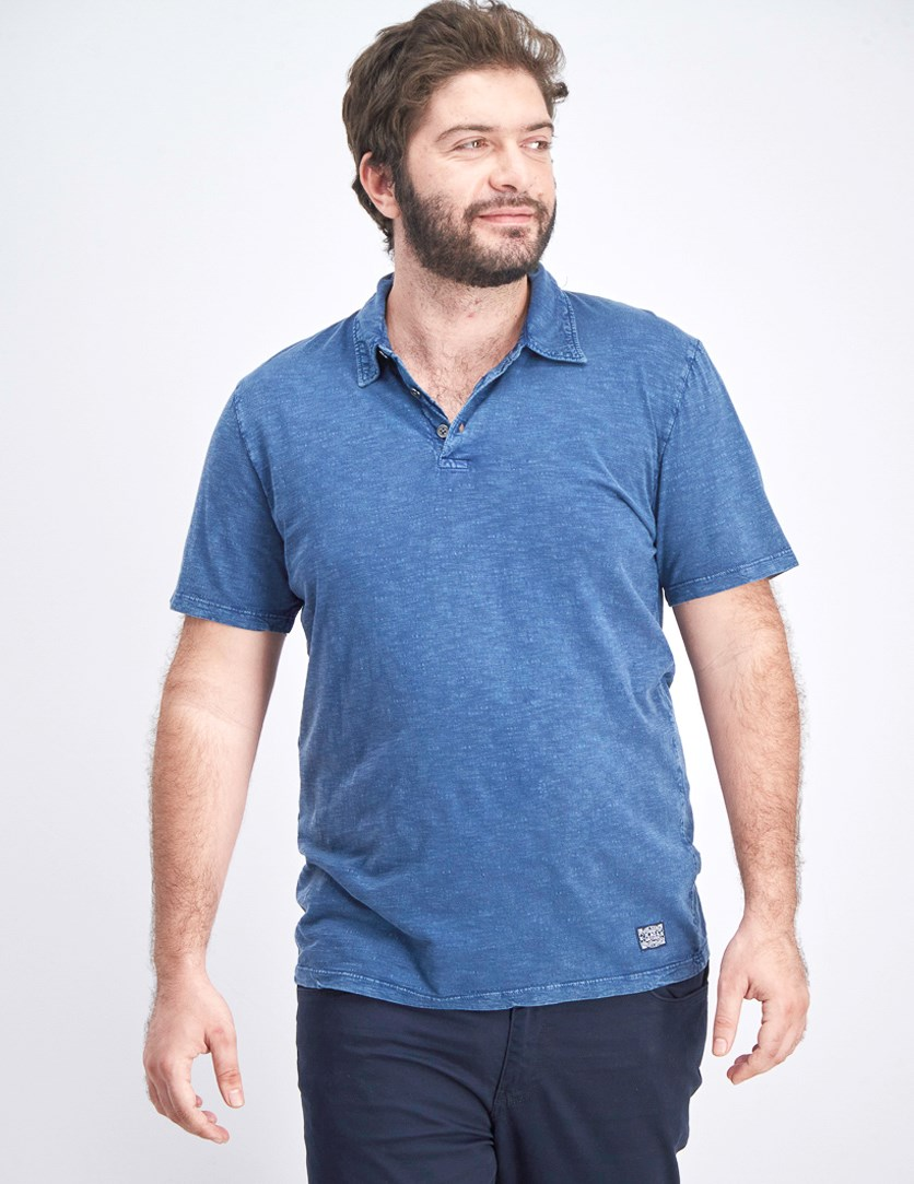 Men's Weaton Polo Shirt, Navy