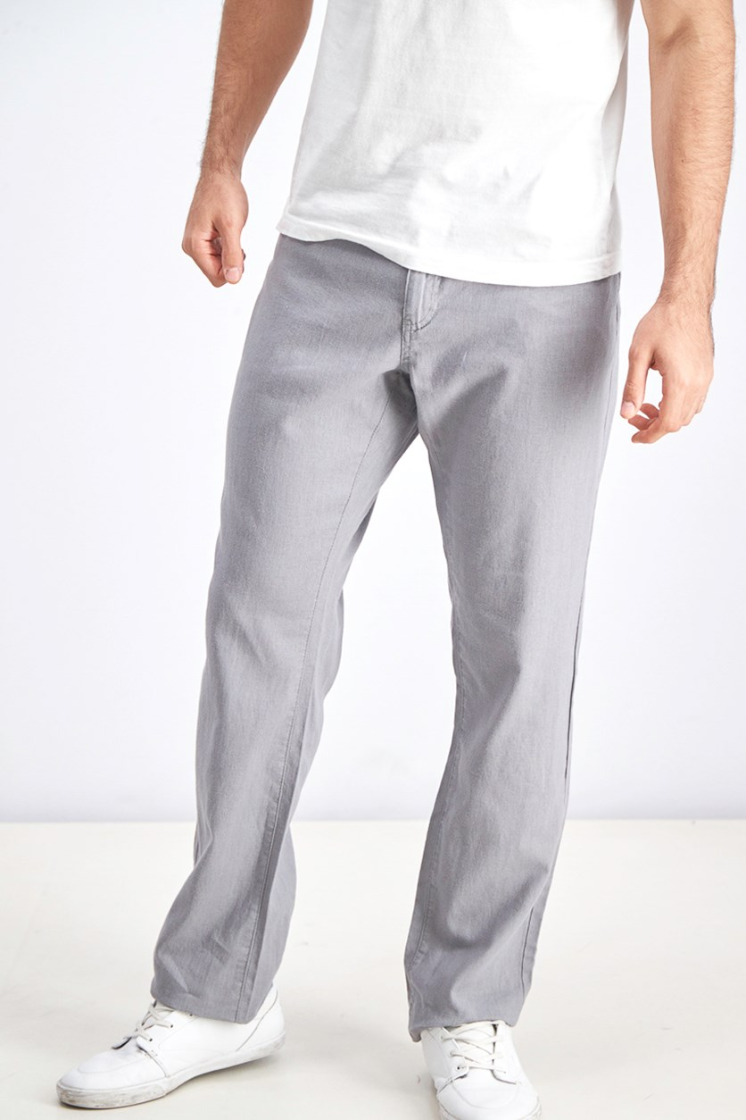 Men's Belt Loops Oakland Pants, Gray