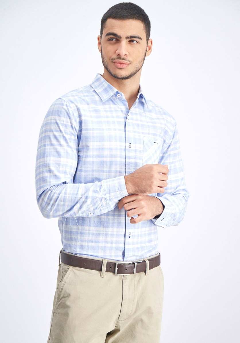 Men's Alberton Shirt, Light Blue