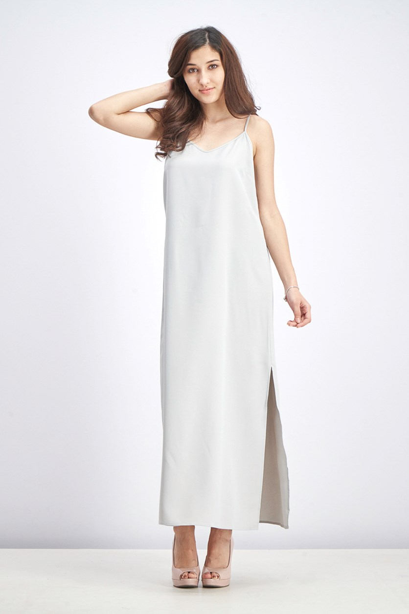Women's Slip Dress, Smoke
