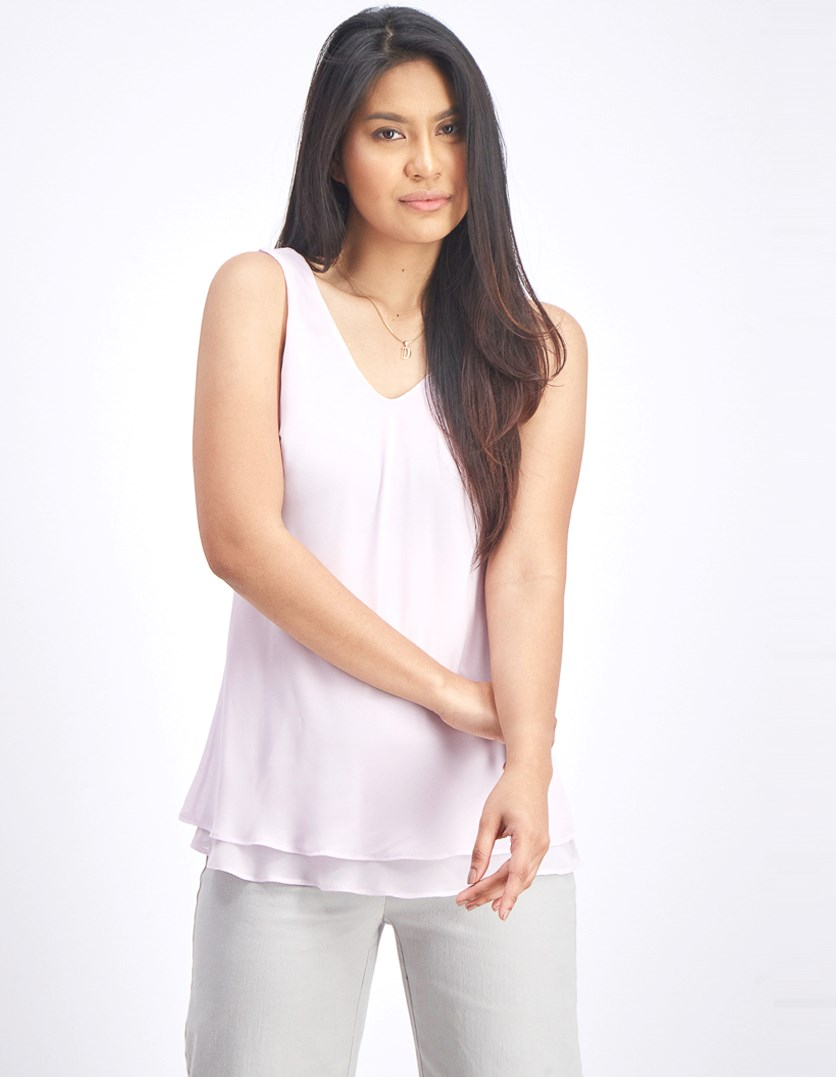 Women's Paired Up Tank, Lavender