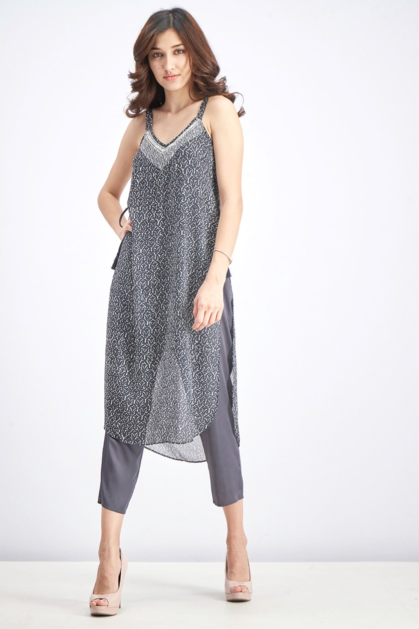 Women's Casablanca Jumpsuit, Grey