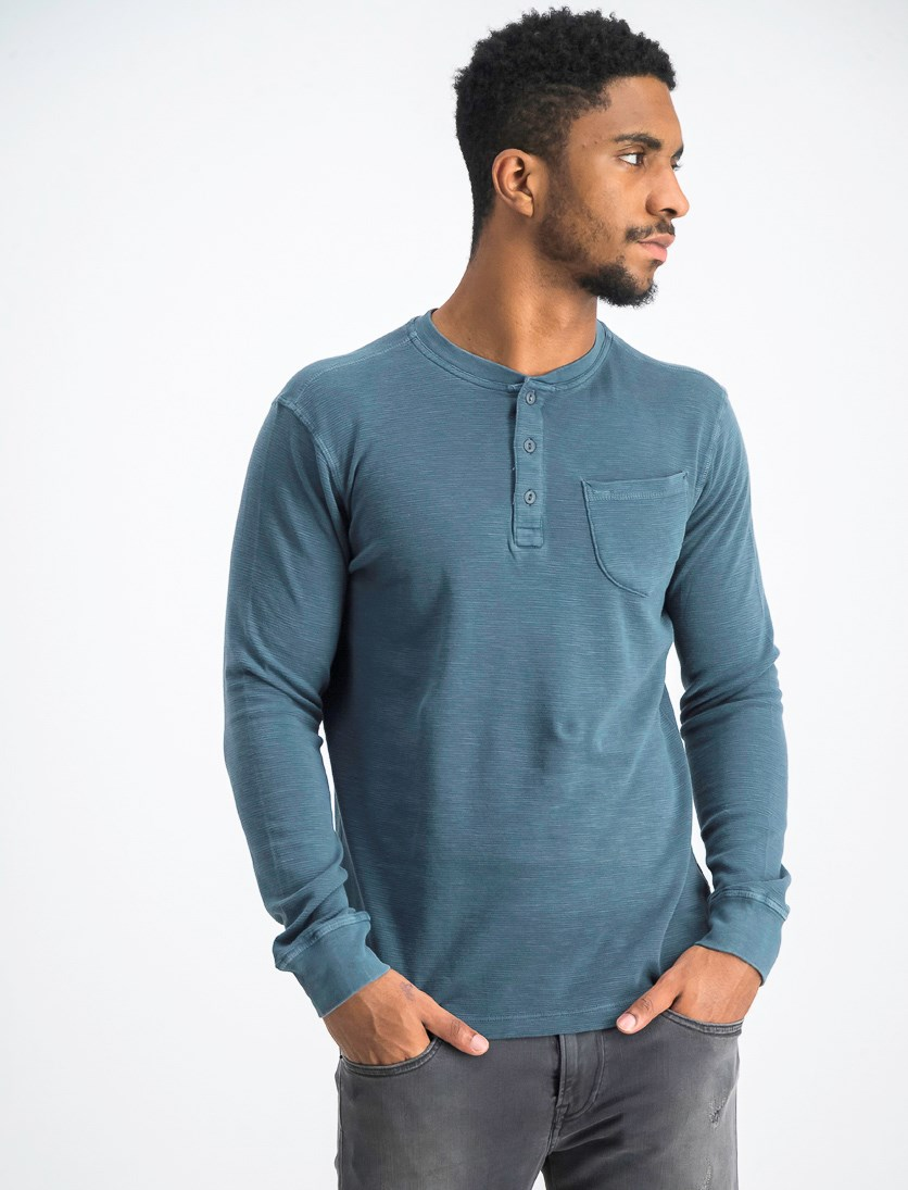 Men's Pullover Sweater, Reflecting Pond