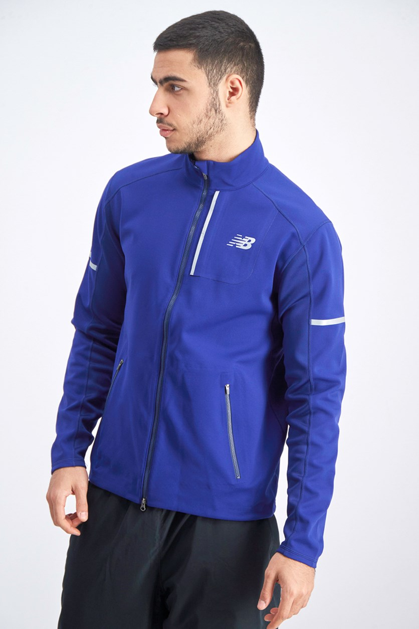 Men's Wind Blocker Jacket, Blue