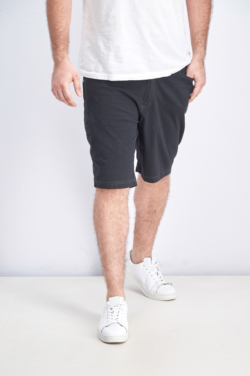 Men's Viking Stretch Fabric Shorts, Black