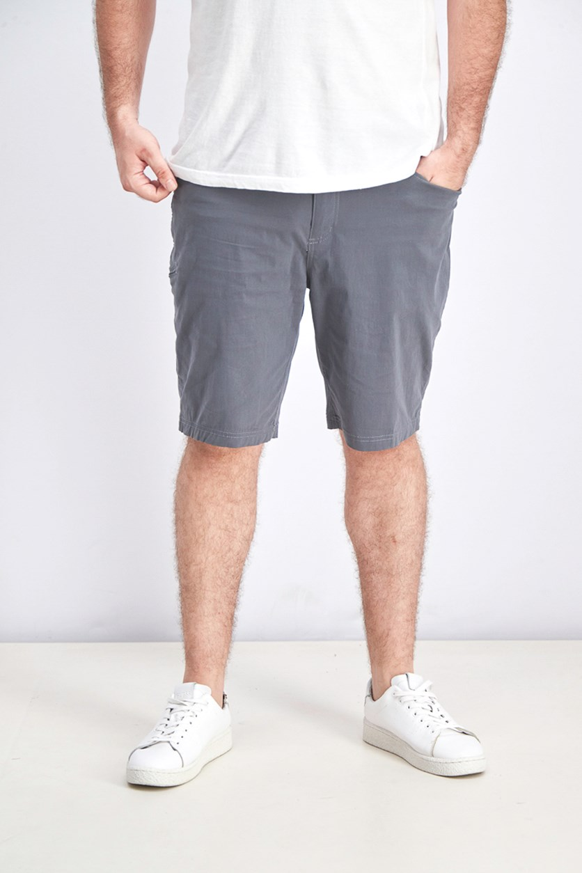 Men's Viking Stretch Fabric Shorts, Grey