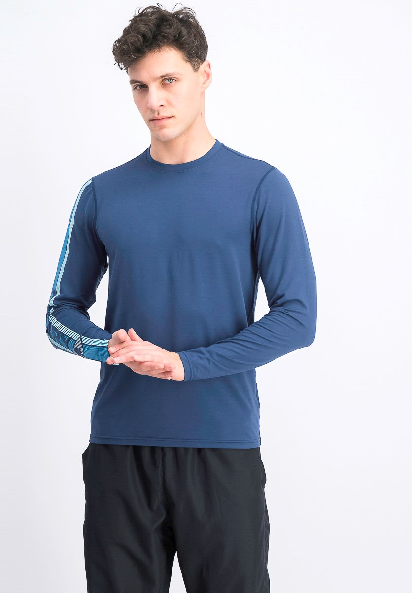 Men's Long Sleeve Top, Navy