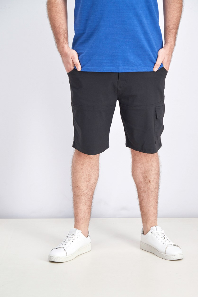 Men's Venture Cargo Shorts, Black