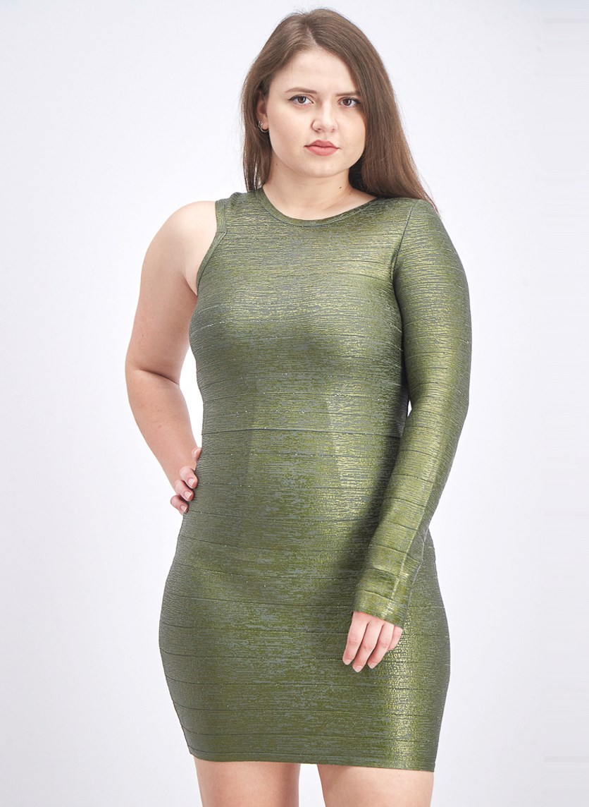Women's Electra Bandage Dress, Beetle