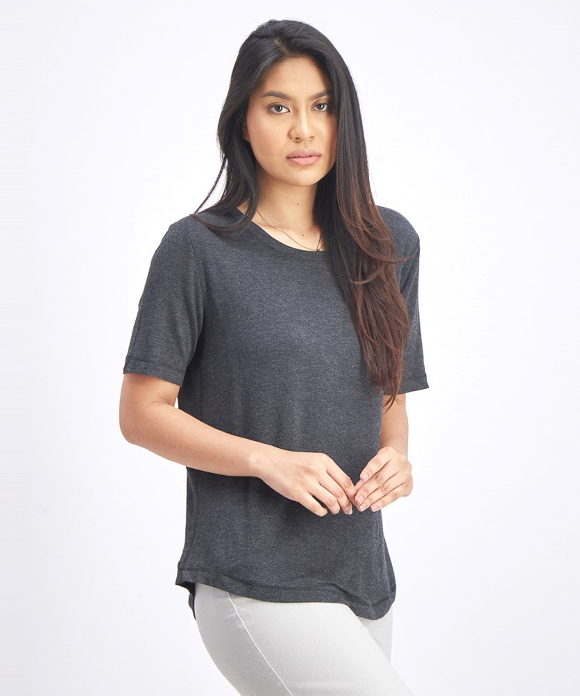 Women's Textured Tops, Charcoal