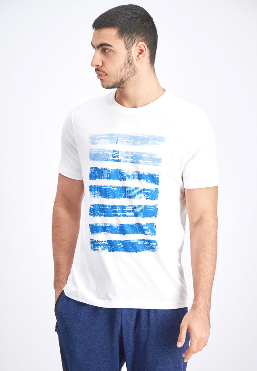 Men's Graphic Tee, White